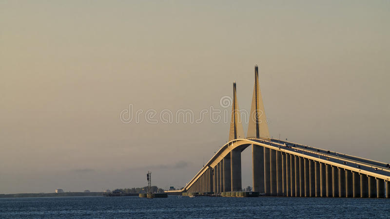 Download The Sunshine Skyway Bridge stock image. Image of roadway - 16764643