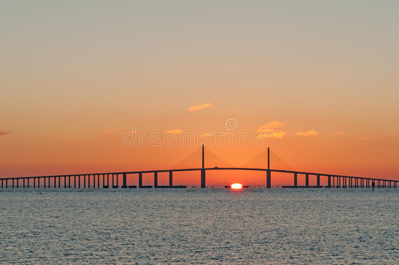 Sunshine Skyway Bridge stock images
