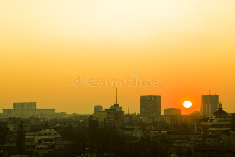 sunshine stary buc żółty obraz stock
