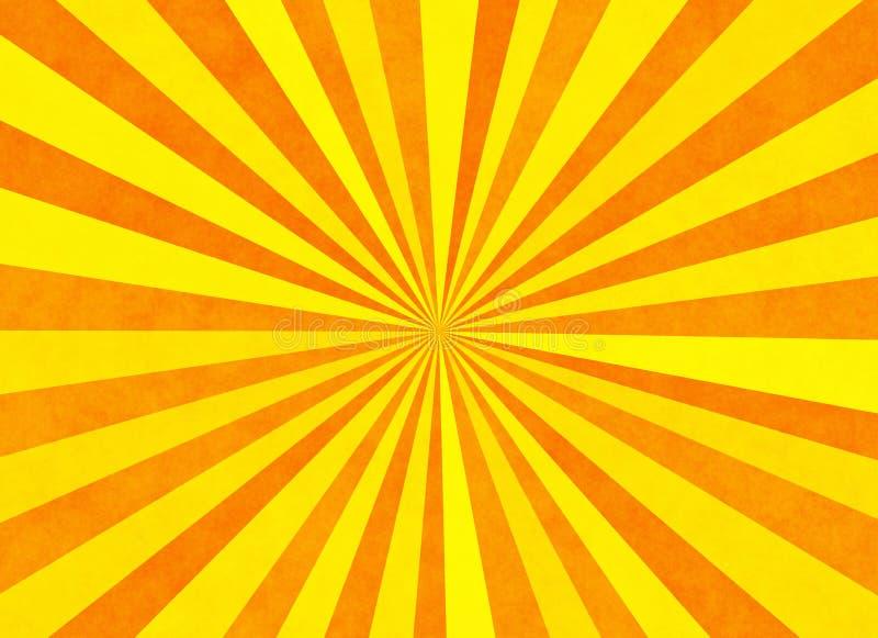 Sunshine texture backgrounds. sunbeam pattern royalty free illustration