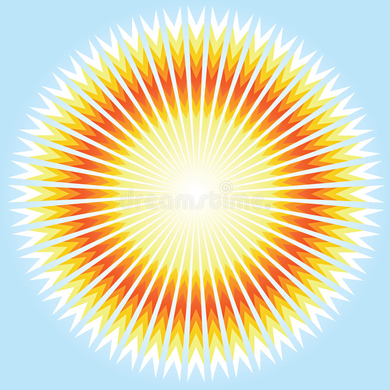 Download Sunshine. Vector. stock vector. Image of icon, elements - 8430558