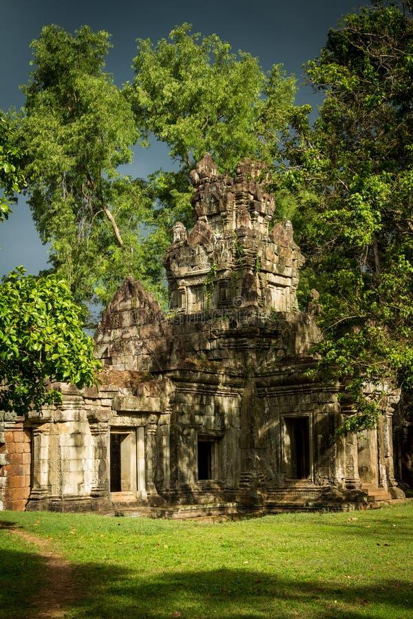 Download Sunshine On Vegetation Growing Of The Angkor Ruin Stock Image - Image of landmark, religious: 26528949