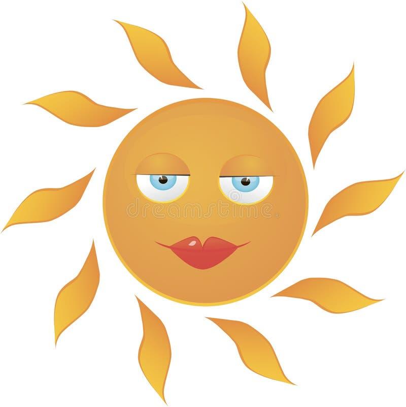 Sunsmile images libres de droits