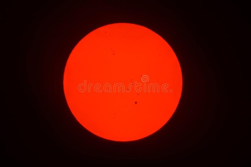 sunspots zdjęcie royalty free