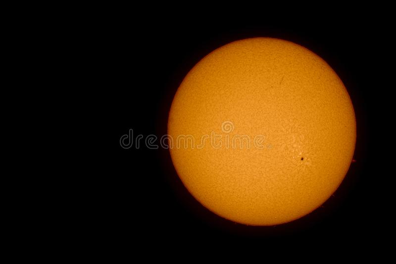 sunspots obraz royalty free