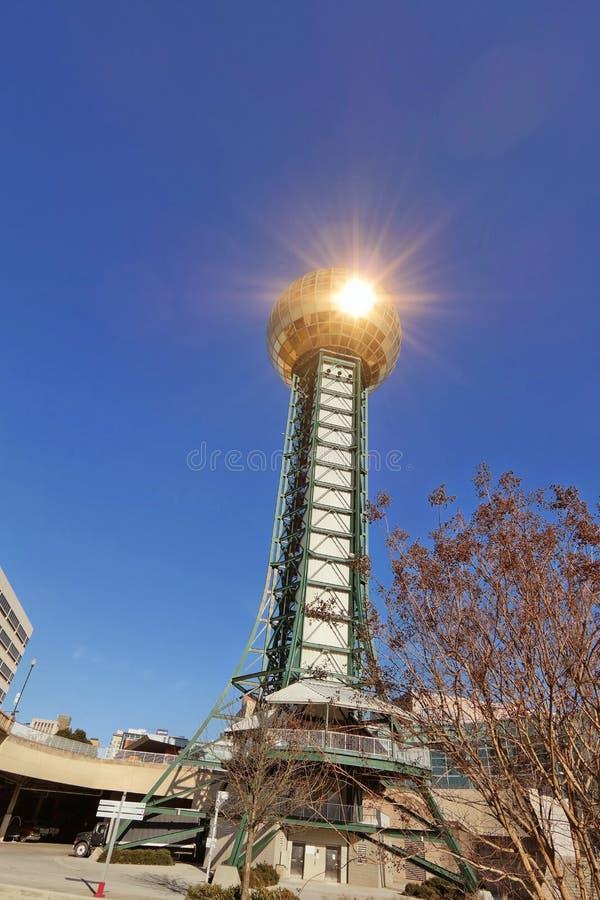Sunssphere World Fair Park Knoxville, Tn stock images
