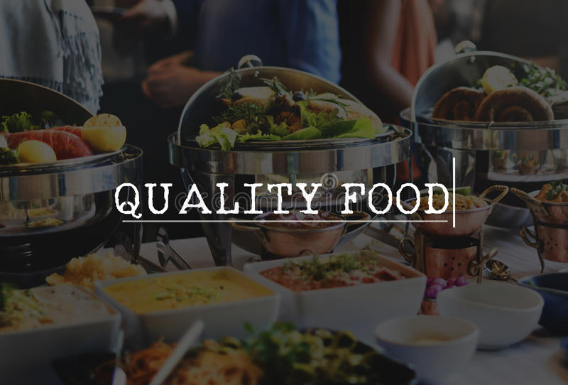 Sunt begrepp för kvalitets- säkerhet för matlabbprovning royaltyfri fotografi