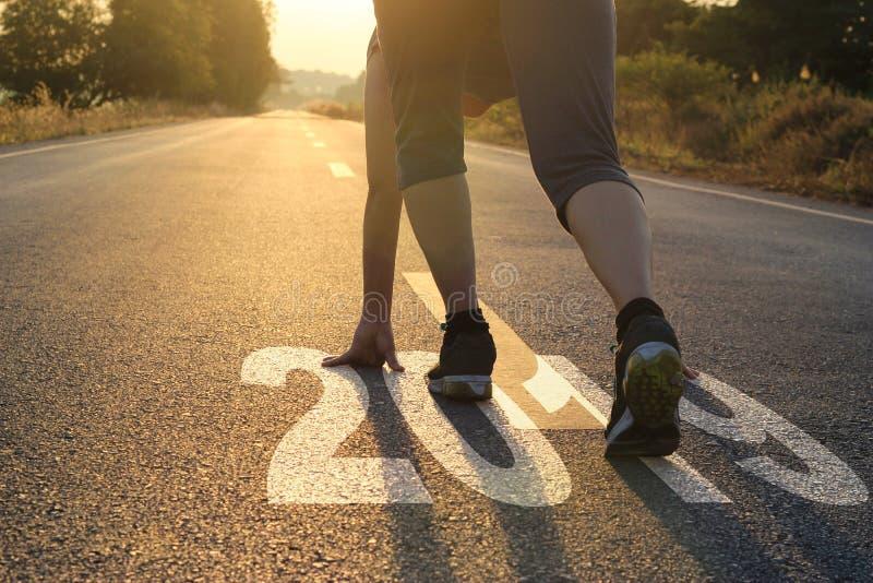 Sunt begrepp för nytt år för livsföring mål och plan, sjukvård och läkarundersökning arkivbilder