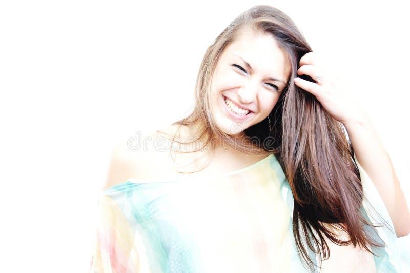 sunt skratta 2 fotografering för bildbyråer