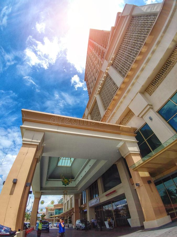 Sunway Clio Hotel. Scenery royalty free stock images