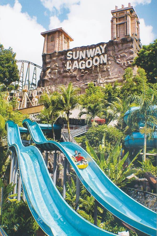 Sunway laguna obraz stock