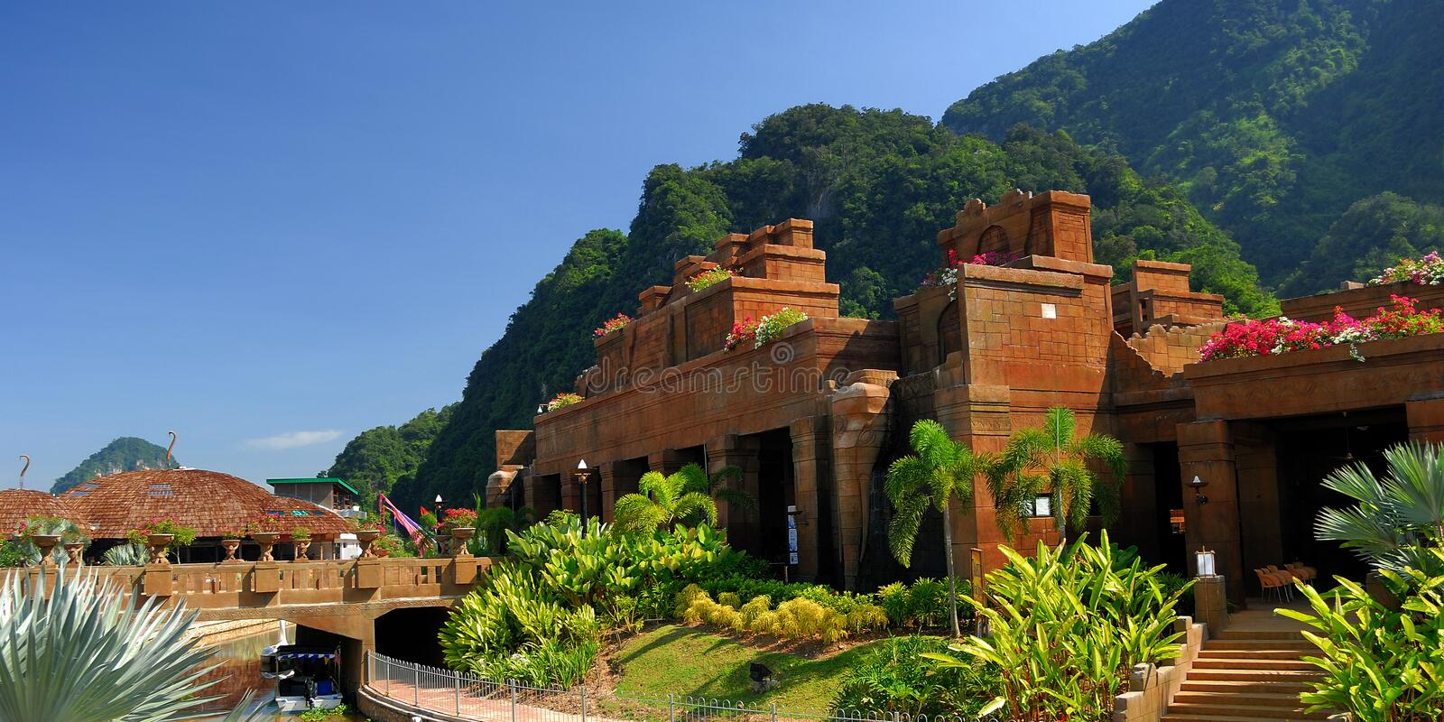 Sunway Lost World Of Tambun. Is an action packed, wholesome family adventure destination royalty free stock photo