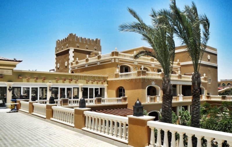 Sunwing hotellMakadi fjärd Egypten Hurghada royaltyfri bild