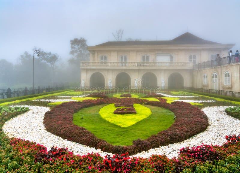 Suoi Mo Garden alle colline del Na di sedere, Vietnam fotografie stock