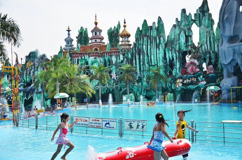 Suoi Tien Amusement Park fotografia de stock royalty free