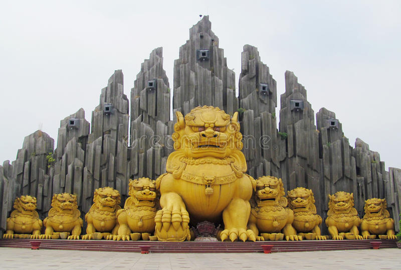 Suoi Tien Theme Amusement Park en Ho Chi Minh City, Vietnam imagen de archivo
