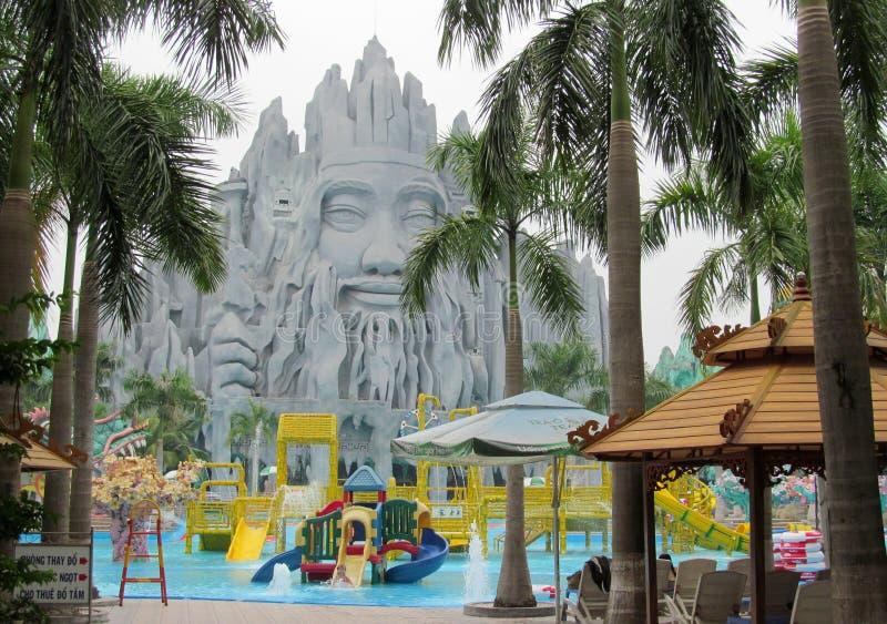 Suoi Tien Theme Amusement Park in Ho Chi Minh City, Vietnam stock photography