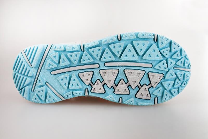 Suola di scarpa di sport fotografie stock libere da diritti