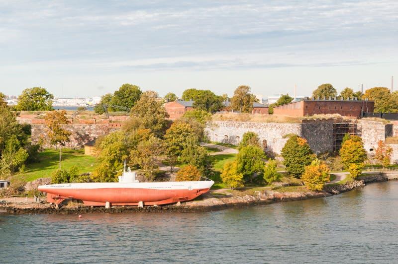 Suomenlinna Festung, Finnland stockbild
