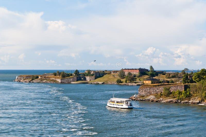 Suomenlinna fortress in Helsinki stock images