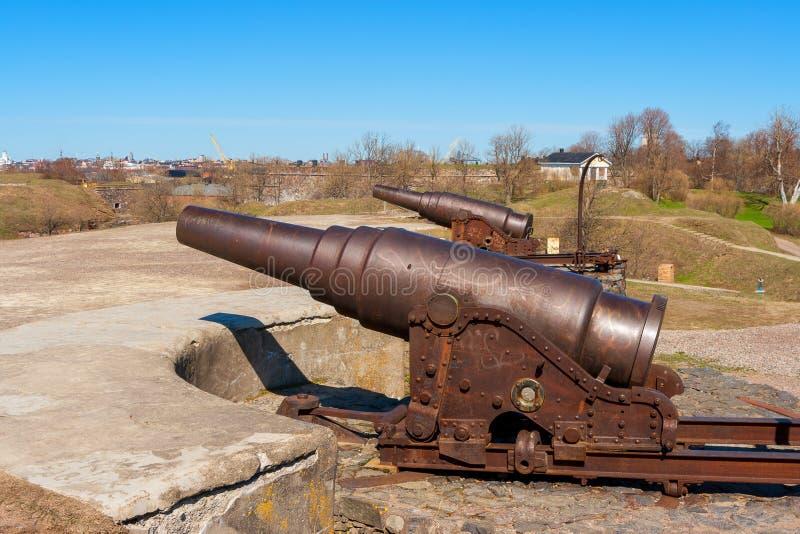 Suomenlinna fortress. Helsinki, Finland royalty free stock photo