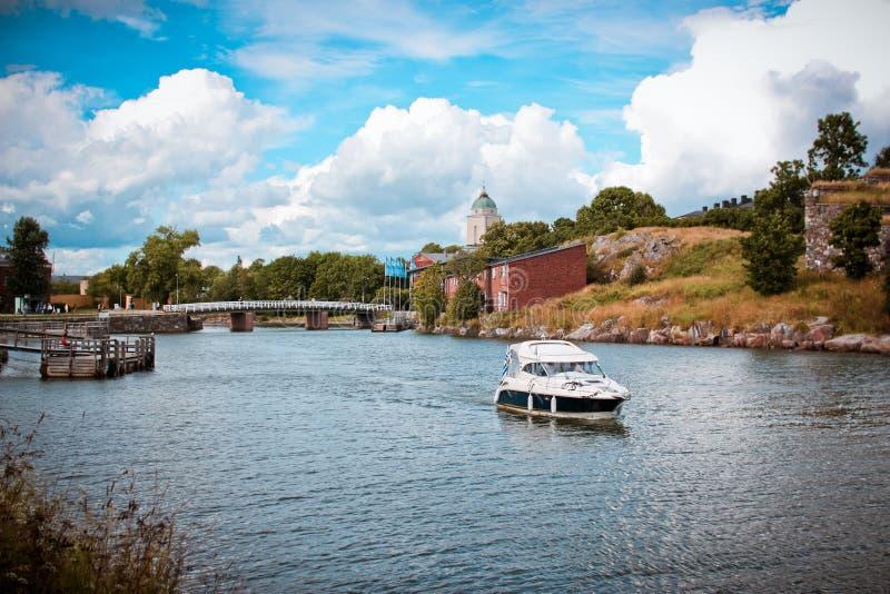 Suomenlinna, HELSINKI fotografía de archivo