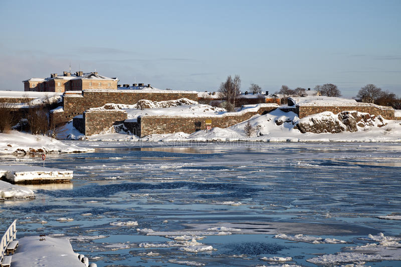 Download Suomenlinna Sea Fortress stock photo. Image of cold, fortress - 18855072