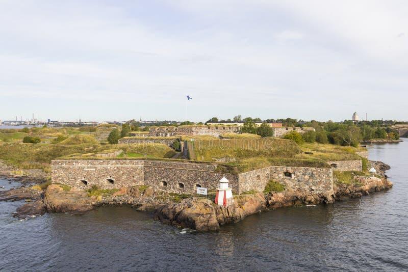 Suomenlinna sea fortress, Helsinki, Finland royalty free stock images