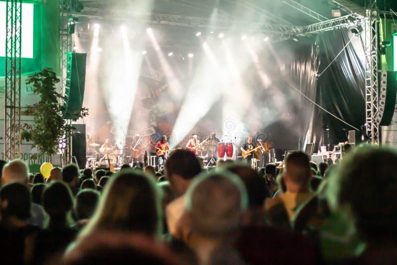 Suonidi Marca Festival 2019 stock afbeelding