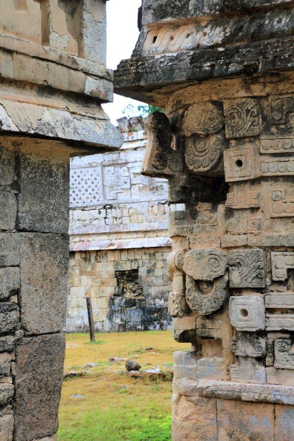 Suora Las di raggruppamento Monjas Messico Mayan di Chichen Itza immagine stock libera da diritti