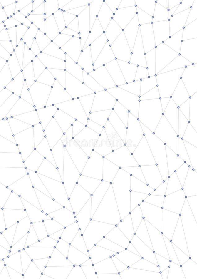 supła sieci ilustracja wektor