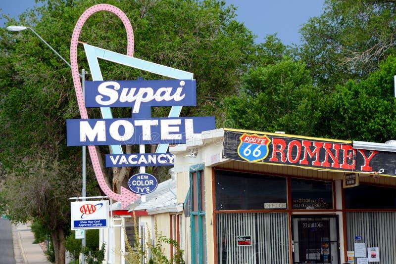 Supai-Motel lizenzfreie stockfotos