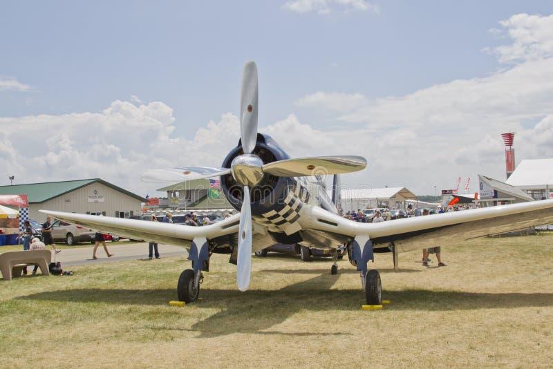 Super 74 frontowy Corsair widok zdjęcia stock