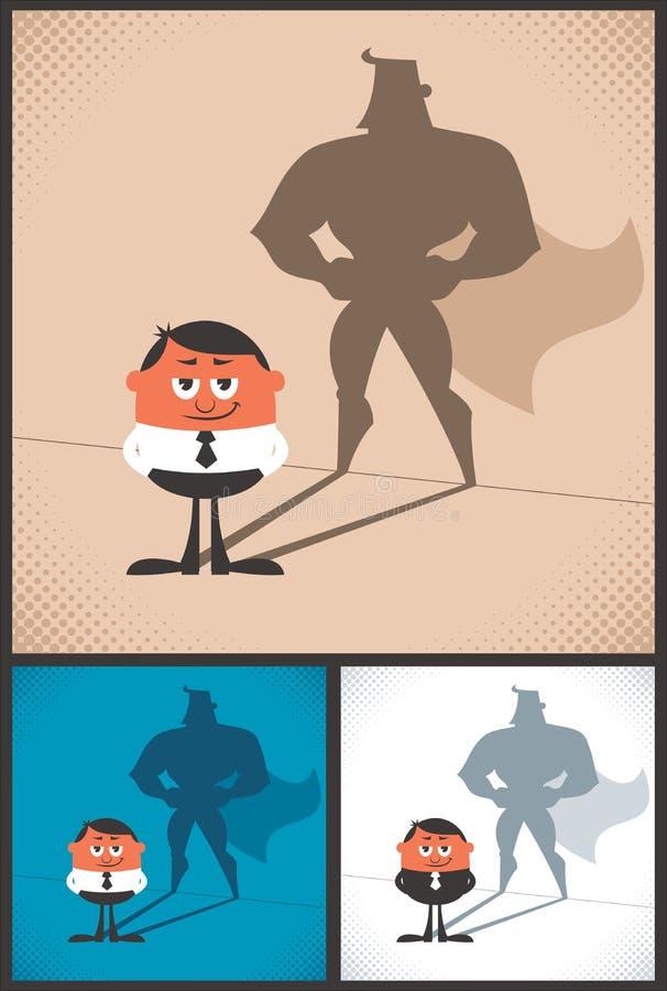 Super biznesmen royalty ilustracja
