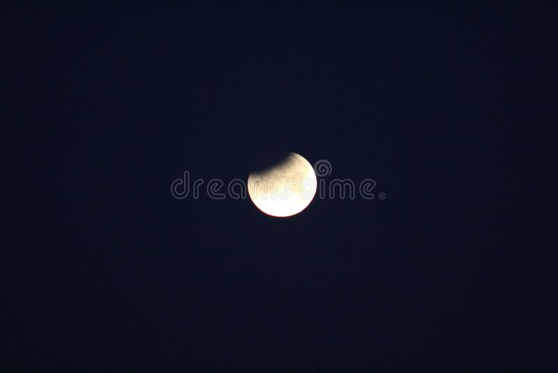 Super blaues Blut-Mond stockfoto
