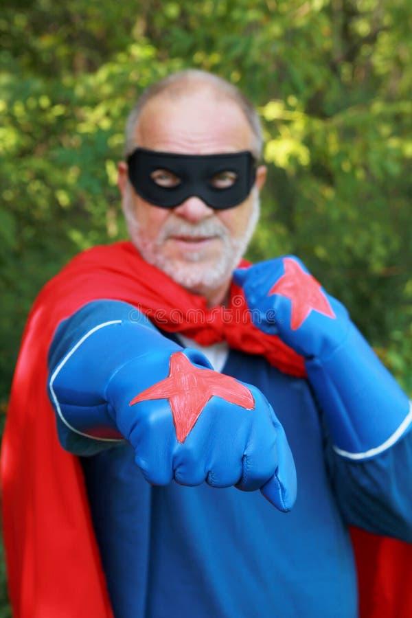 Super bohater fotografia royalty free