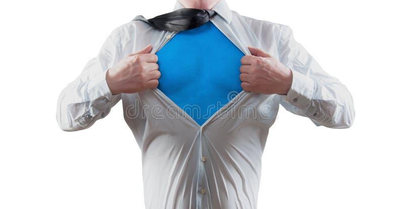Super bohater obrazy royalty free