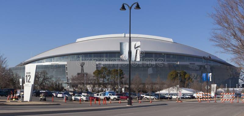 Super Bowl 45 - Stade de cowboy image libre de droits