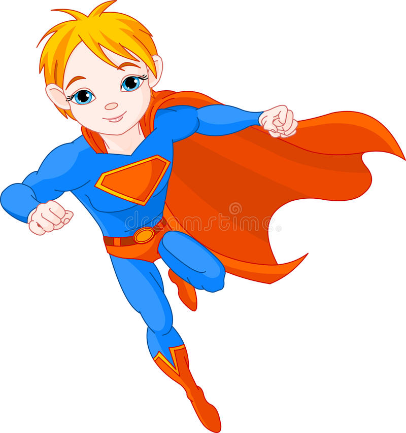 Download Super  Boy stock vector. Image of cute, pound, cape, clipart - 15748903