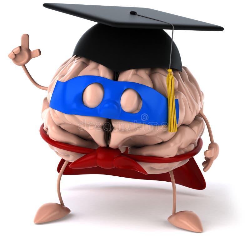 Download Super brain stock illustration. Illustration of perception - 22853697