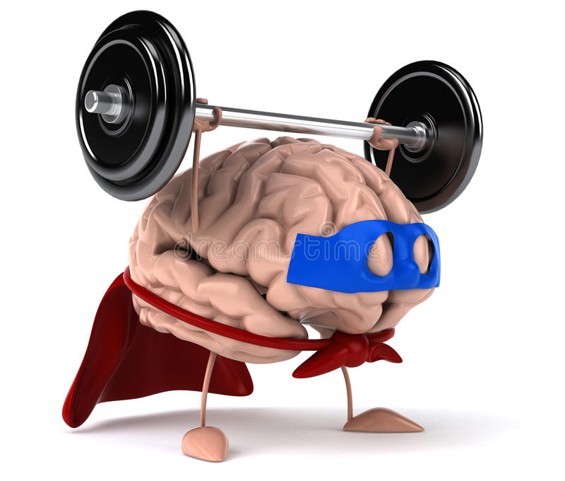 Download Super Brain Royalty Free Stock Photo - Image: 25073025