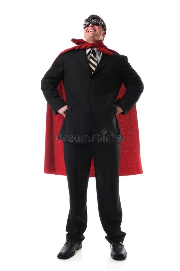 Super Business Hero royalty free stock image