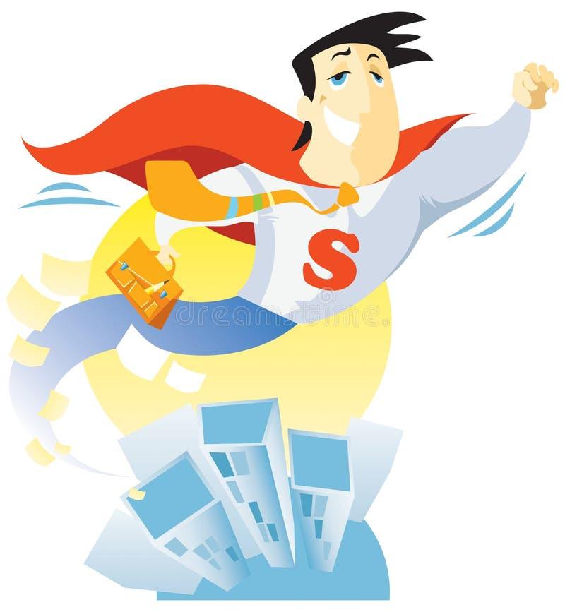 Download Super-clerk stock illustration. Image of suit, world - 16656703