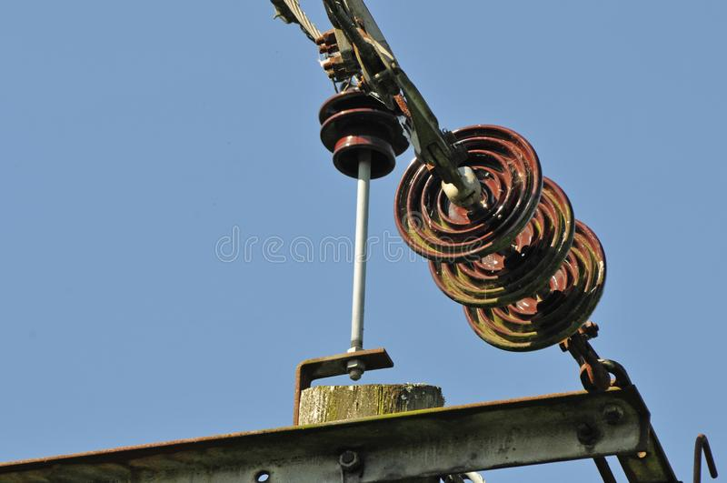 SUPER CONDUCTOR HIGH POER POWER CABLE royalty free stock photos