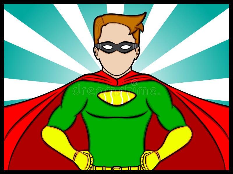 Super Confidence royalty free illustration