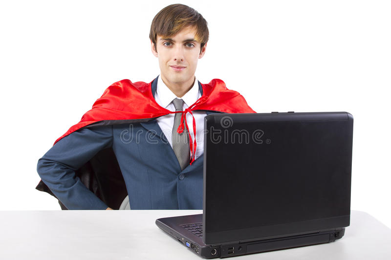 Super Employee royalty free stock photography