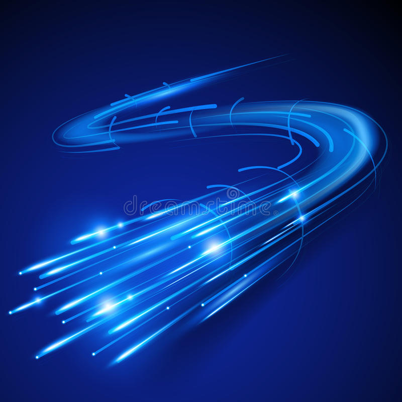 Download Super Fast Fibre Optic stock vector. Image of internet - 30318581