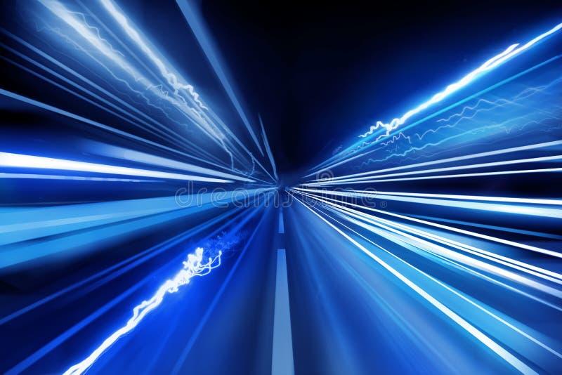 Super Fast Light Beams stock illustration