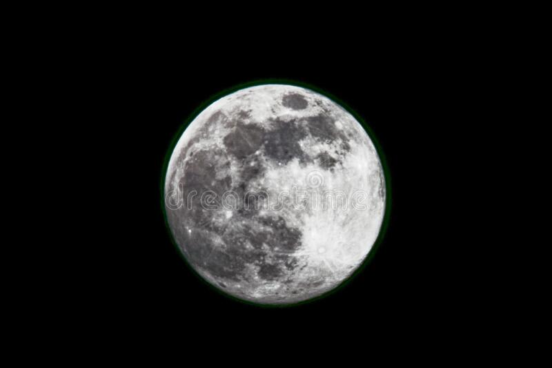 Super Flower Moon royalty free stock photography