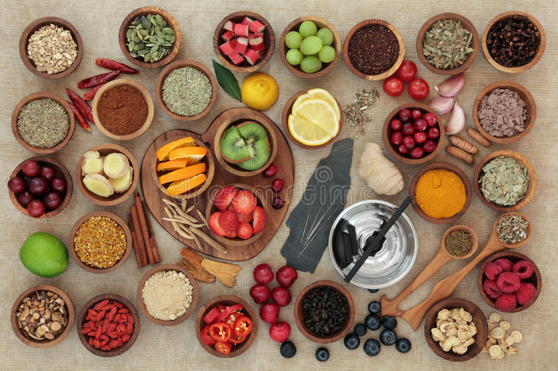Super Food for Cold and Flu Remedy royalty free stock images
